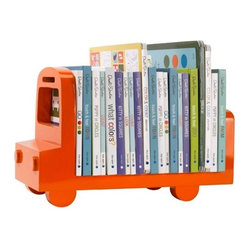 Bus Bookshelf - Orange