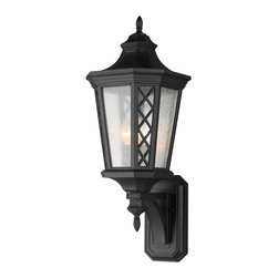 Murray Feiss - Murray Feiss OL9505TXB Wembley Park 3 Bulb Textured Black Outdoor Lantern - Murray Feiss OL9505TXB Wembley Park 3 Bulb Textured Black Outdoor Lantern