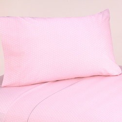 Sweet Jojo Designs - Sweet JoJo Designs 200 Thread Count Mod Dots Bedding Collection Pink Cotton Shee - Make your bed pretty in pink and white with this Sweet JoJo Designs cotton sheet set. This set is easy to care for, and it can be coordinated with other items from the same collection to create a completely cohesive look for your room.