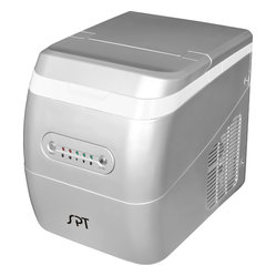 Portable Ice Maker, Silver