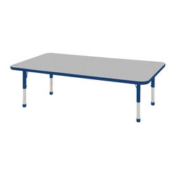 ECR4KIDS - ECR4KIDS Rectangle Activity Table - 30L x 60W in. - ELR-14111-GBK-C - Shop for Childrens Tables from Hayneedle.com! About Early Childhood ResourcesEarly Childhood Resources is a wholesale manufacturer of early childhood and educational products. It is committed to developing and distributing only the highest-quality products ensuring that these products represent the maximum value in the marketplace. Combining its responsibility to the community and its desire to be environmentally conscious Early Childhood Resources has eliminated almost all of its cardboard waste by implementing commercial Cardboard Shredding equipment in its facilities. You can be assured of maximum value with Early Childhood Resources.