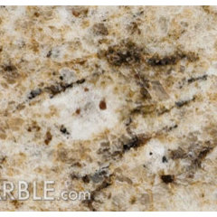 traditional kitchen countertops Giallo Ornamental C Granite