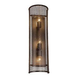 Varaluz - Varaluz 231W03 Lit-Mesh Test 3 Light Wall Sconce - Features: