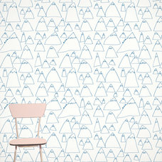 Contemporary Wallpaper by Fine Little Day