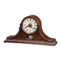 Howard Miller - Howard Miller Dual Chime Antique Mantel Clock | ANDREA - 635144 ANDREA