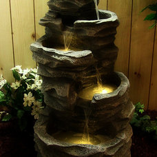 Asian Outdoor Fountains And Ponds by Serenity Health & Home Decor