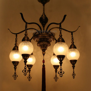 Turkish Style Glass Chandelier - *Code: HD-04162_57