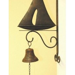 Creative Creations Sailboat Yard Bell -