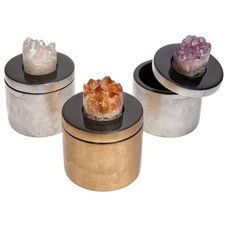 Eclectic Storage Bins And Boxes by Zhush