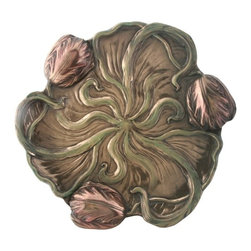 Summit - 10 Inch Collectible Bronze Colored Cold Cast Resin Tulip Plate - This gorgeous 10 Inch Collectible Bronze Colored Cold Cast Resin Tulip Plate has the finest details and highest quality you will find anywhere! 10 Inch Collectible Bronze Colored Cold Cast Resin Tulip Plate is truly remarkable.