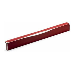 Richelieu Hardware - Richelieu Industrial  Transitional Metal Red Pull 192mm Metallic Red - Richelieu Industrial  Transitional Metal Red Pull 192mm Metallic Red