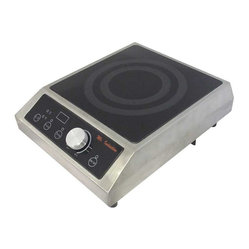 1800W Commercial Induction (Countertop) - What's cooking? If you've got your own restaurant or catering business, it's time to upgrade to induction equipment. With a thick, tempered glass surface, choice of power or temperature mode and simple knob-set thermostat control, you'll truly be top chef.