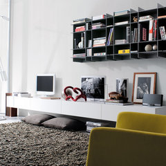 contemporary wall shelves by Poliform USA