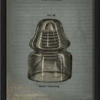 The Artwork Factory - 'Glass Insulator' Print - You don't have to know Morse code to appreciate this vintage print. Made from high resolution, fade-resistant paper, this museum quality print is reminiscent of a 1850s style glass insulator.