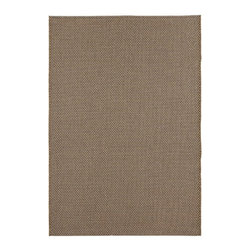 Home Decorators Collection - Gabo Area Rug - For textured simplicity with the look and feel of natural fibers, look no further than our Gabo Area Rug. This all-weather rug from our Patio Collection features a power-loomed low pile that will stand up to sun and storms. The neutral color of this synthetic rug will integrate smoothly into your existing outdoor decor. 100% Olefin. Machine made. Flat pile. Can be used indoors or out. Easy to clean; simply spray with a hose. Made in Turkey.