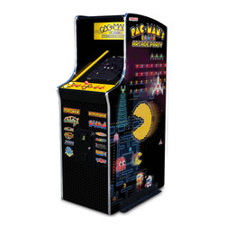 30th Anniversary Authentic Pac-Man Arcade Game - Hammacher Schlemmer sells a really cool product called the 30th Anniversary Authentic Pac-Man Arcade Game.