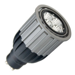 Osram Sylvania - Sylvania 78896 - 10W PAR16 LED - GU10 Base - Flood - Dimmable - The Sylvania 78896, LED10PAR16/GU10/DIM/830/FL35 is a 10 watt, PAR16 dimmable LED with a GU10 base.Use this bulb to replace standard 50 watt PAR16 halogen. Fully dimmable, light levels can be changed as desired. For optimum dimming performance see the compatible dimmers below.