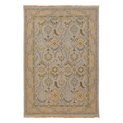 Surya - Surya Sonoma SNM-9036 (Cream, Mocha) 6' x 9' Rug - Sonoma brings an updated look to traditional soumaks. The color banks are refreshed with modern colors and a hard twist to the wool adds a unique texture. This hard twist adds an unmatched multiplicity to this collection, and makes the style more transitional and less formal.