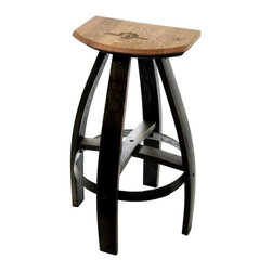 Stained Bar Stools -