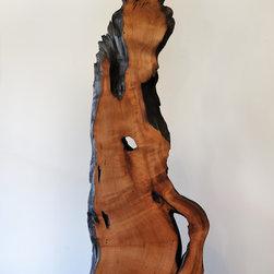 Fire Spirit: Red Cedar Sculpture (Tsuitate) - Fire Spirit: Tsuitate