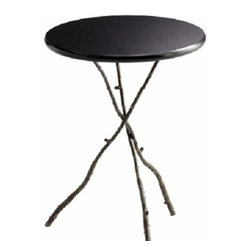 Branch Leg Rustic Steel Table - Small - *Small Gaston Table