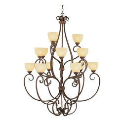 Trans Globe Lighting - Trans Globe Lighting 7219 ROB Chandelier In Rubbed Oil Bronze - Part Number: 7219 ROB