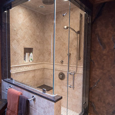 Contemporary Shower Stalls And Kits by Mirage Mirror & Glass