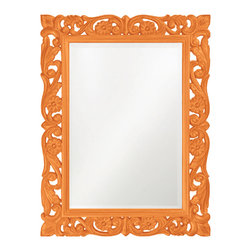 RR - Ornate Floral Mirror - Ornate Floral Mirror - Multiple Colors