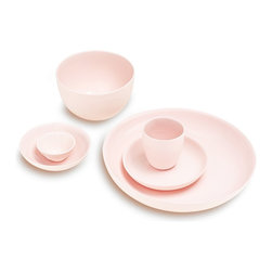Mud Australia Pink Serveware - These delicate and understated pinks would be beautiful on any table.