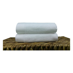 BedVoyage - Towels Hand 2 Pack, White - BedVoyage Bamboo Towels are the utmost in velvety softness! With a blend of 70% bamboo viscose and 30% cotton, the towels are incredibly durable, absorbent and amazingly soft to the touch. You will feel so pampered when you wrap this wonderful towel around your body.