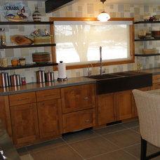 Industrial Kitchen by Hard Topix LLC