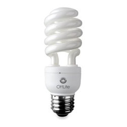 Ottlite Technologies Inc - OttLite High Definition 15-Watt Edison CFL Swirl Bulb - OttLite High Definition CFL Swirl bulb delivers the right mix of brightness and contrast to bring true colors and comfortable clarity to your world so you can enjoy your time even more.
