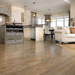 Mirage Hardwood Floors - Mirage: Admiration Collection: Red Oak, color: Charcoal