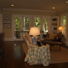 Traditional Family Room by Neal Creech