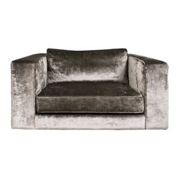 ecofirstart - Vienna Way Lounge Chair - Design, shape and luxurious look and feel conspire in this one ultra plush lounge chair. Grandiose like a Viennese boulevard, this contemporary vintage velvet armchair is beckoning you to curl up with a good book and a glass of merlot!