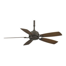 "Fanimation - Fanimation Hubbardton Forge 6050 54"" 5 Blade Ceiling Fan - Blades and Remote Con - Included Components:"