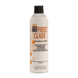 Franklin - FIRST CLASS FURNITURE POLISH 12/18OZ - CAT: Chemicals & Janitorial Supply Chemicals Furniture Polish
