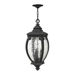 Hinkley Lighting - Hinkley Lighting 1942MB Forum Museum Black Outdoor Hanging Lantern - Hinkley Lighting 1942MB Forum Museum Black Outdoor Hanging Lantern