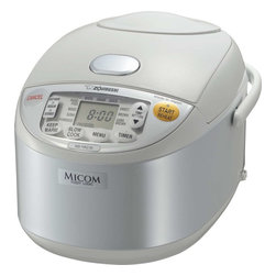Zojirushi - Zojirushi NS-YAC10 Umami Micom Rice Cooker and Warmer, 5.5 cup - -Micro computerized Fuzzy logic technology