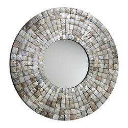 Cyan Design - Mosaic Tile Mirror - -Mosaic Tile Mirror