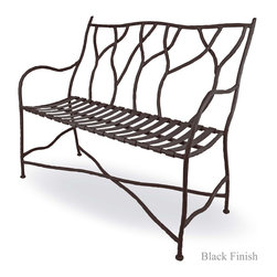 Mathews & Company - Outdoor South Fork Bench - The new Outdoor South Fork Bench features a Rustic style, perfect for your Foyer, Front porch, Patio, Deck and more. A more detailed overview is on its way, however, you will get all the important specifications below. This item is available to order. If you have any question or would like some customizations please give us a call or send us an email we are happy to help.