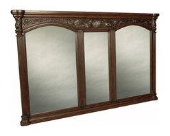 Provincial Grand Bathroom Mirror - Dark -