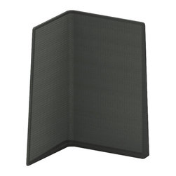 Turnstone - Campfire Screen - Available either right-facing or left-facing, the Campfire Screen is made from a steel frame with polyester mesh fabric. Mostly opaque, the Campfire Screen is still airy enough to make private spaces that don't close off your office.