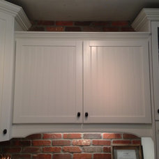 Aristokraft cabinetry --Ellsworth collection.   Another view--these cabinets hav