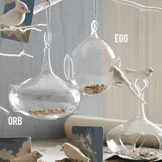 Modern Bird Feeders by Pop Deluxe