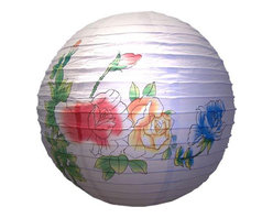 Oriental-Decor - Flower Lantern - Add a whimsical feel to any living space with our Chinese Flower Lantern. With a diameter of 14 inches and thoroughly made from paper, this lantern is an awesome way to add a final touch to a garden wedding or outdoor party. Not just that, if you are currently looking for an inexpensive way to liven up your apartment, then this may well be the solution. Buy it with our 11-foot cord and socket set so you can hang it up in your living room or bedroom. You can even use this to decorate a spa designed only for women. If you're a girly girl and are not afraid of pastel colors, then its delicate 3-flower design is a beautiful way to add a feminine touch to any room. With its watercolor hues, you don't have to search any further for a charming housewarming present to your friends and loved ones.