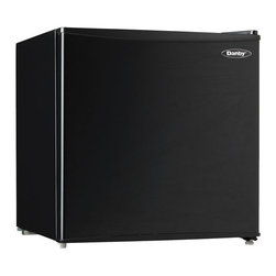 Danby - Danby Black 1.7 Cubic Foot Refrigerator - Features: