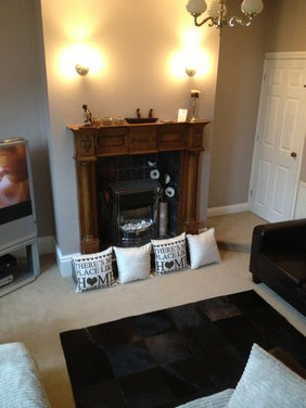 Chimney Breast Feature Wall
