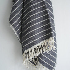 mediterranean towels by Etsy