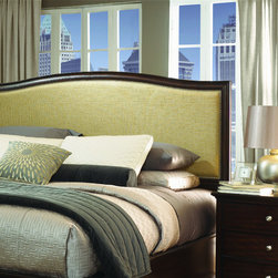 Homeworks Bedroom Queen Fabric Panel Headboard HWI82412 - Walter E. Smithe - 10 -